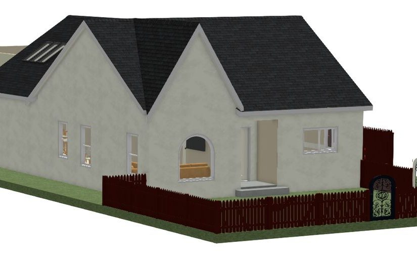 architectural home plan